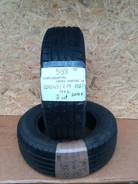 Opony Para Całoroczne Continental 22565 R17 102t Całoroczne