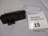 REZYSTOR DMUCHAWY TOYOTA MR III E2D373