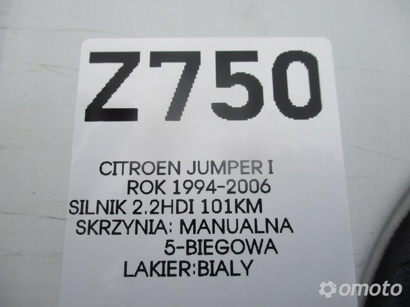 CITROEN JUMPER LIFT 02 2.2 HDI SILNIK GOŁY SŁUPEK
