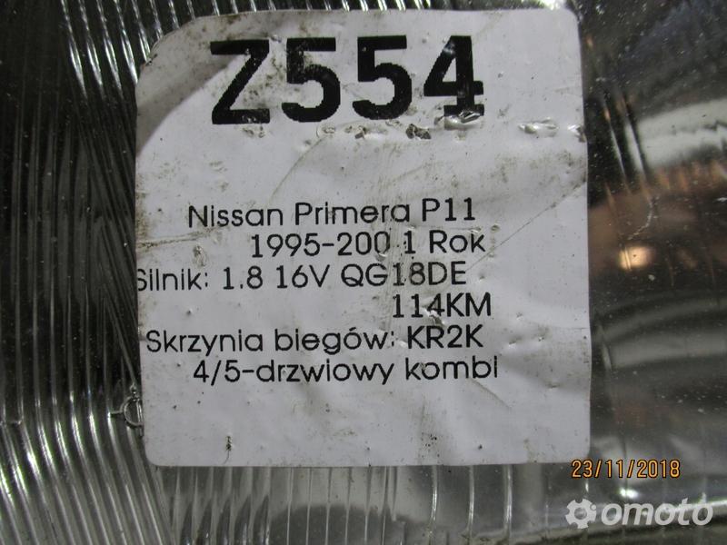 LAMPA PRZEDNIA PRAWA NISSAN P11 95-01 R.