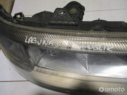 LAMPA PRZEDNIA PRAWA RENAULT LAGUNA II UK