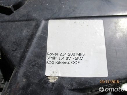 LAMPA PRZEDNIA PRAWA ROVER 214 200 MK3
