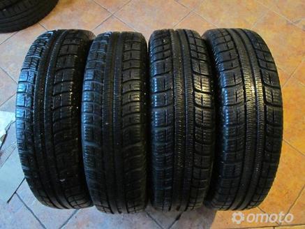 Opony Zimowe Michelin Alpin 15565 R15 Bieżnik 7mm Zimowe Omoto