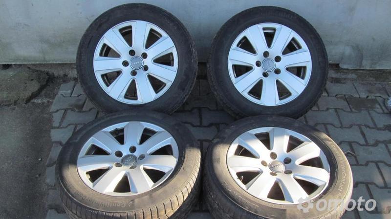 Felgi Aluminiowe Audi A6 C6 7x16 Et 42 5x112 Aluminiowe Omotopl