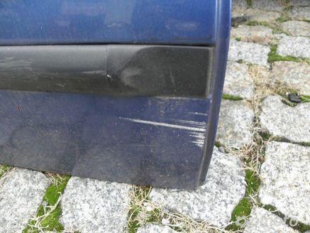 Fiat Brava 95-01 drzwi tylne tył prawe niebieskie