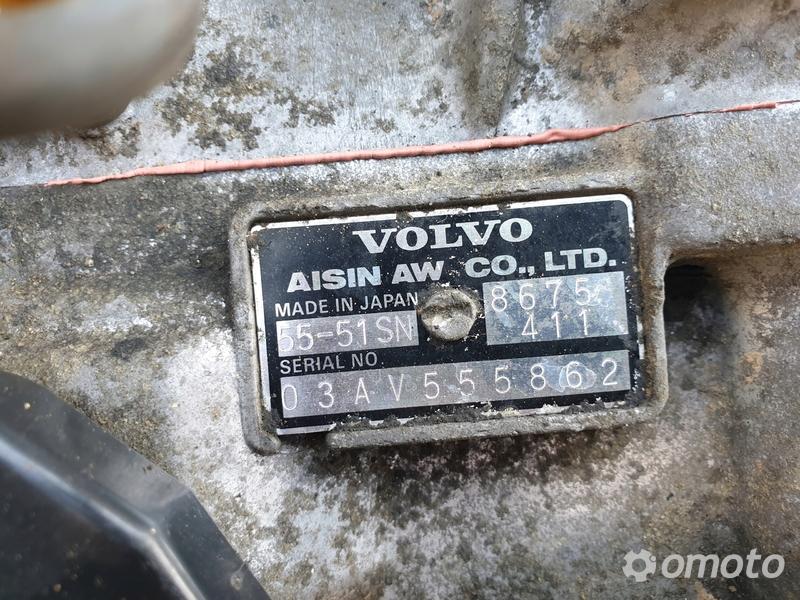 Volvo V70 2.4 AUTOMATYCZNA SKRZYNIA BIEGÓW 55-51SN