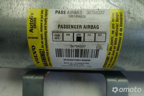Volvo S60 V70 PODUSZKA POWIETRZNA pasażera AIRBAG