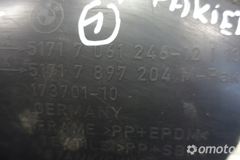 BMW E61 TYLNE PRAWE NADKOLE prawy tył M-Pakiet