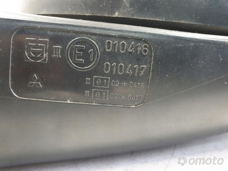 Mitsubishi Carisma LUSTERKO PRAWE PASAŻERA 5 kabli