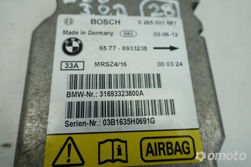 BMW X5 E53 MODUŁ PODUSZEK POWIETRZNYCH sensor