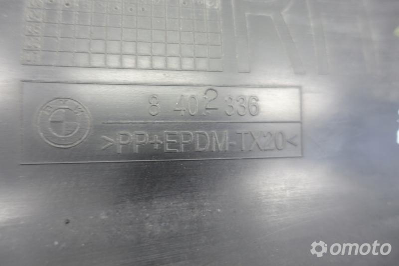 BMW X5 E53 NADKŁADKA PROGOWA listwa PRAWA przód