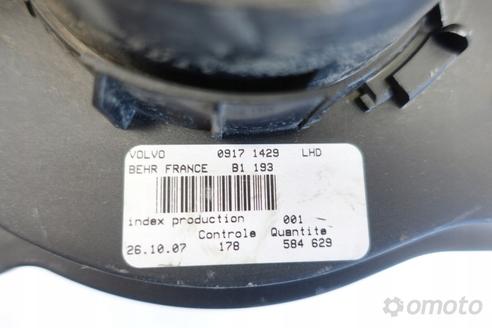 Volvo S60 V70 WENTYLATOR OGRZEWANIA 09171429 oryg