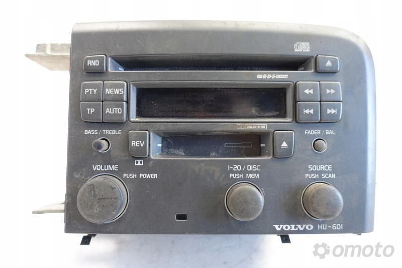 Volvo S60 V70 S80 RADIOODTWARZACZ radio CD HU-601