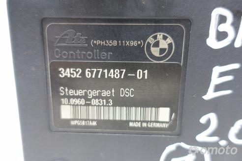 BMW E90 2.0 D POMPA ABS hamulcowa 6771487 ORYGINAŁ