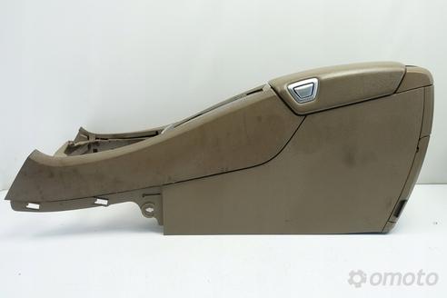 Volvo S60 V70 II TUNEL ŚRODKOWY podłokietnik skóra