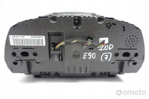 BMW E90 2.0 D ZEGARY LICZNIK 6964514 oryginał