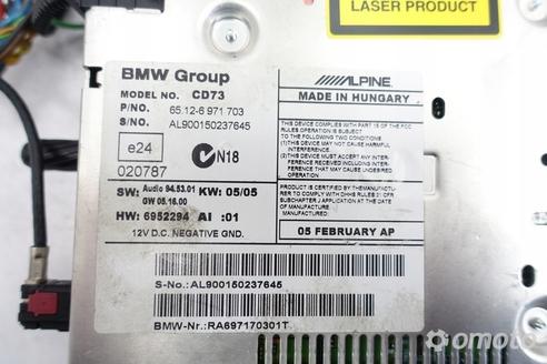 BMW E90 RADIOODTWARZACZ radio CD 6971703 oryginał