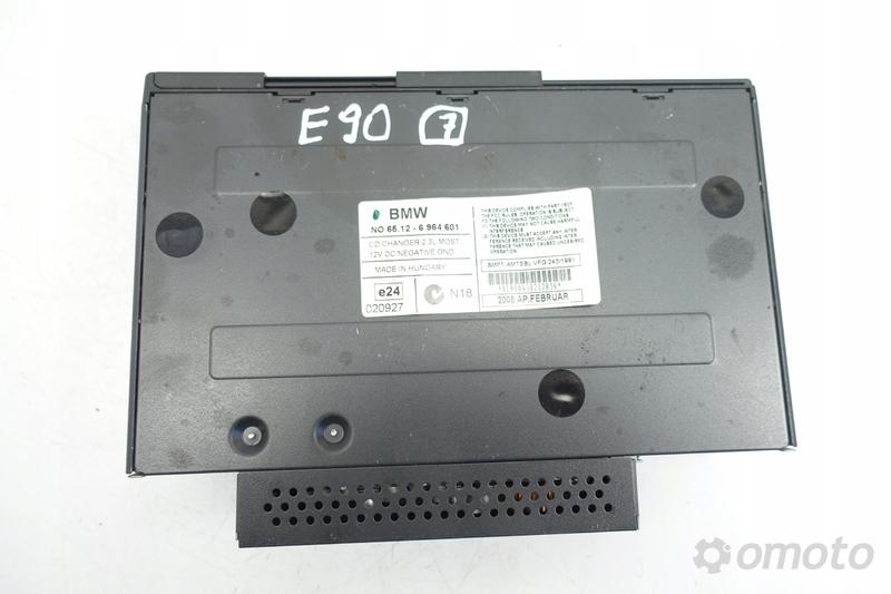 BMW E90 ZMIENIARKA PŁYT CD CZYTNIK 6964601 oryg