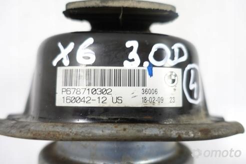 BMW X6 E71 3.0 D PODUSZKA SILNIKA łapa 6787103