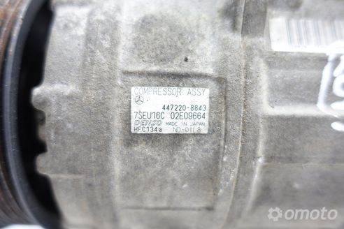 Mercedes W203 1.8 k SPRĘŻARKA KLIMATYZACJI org