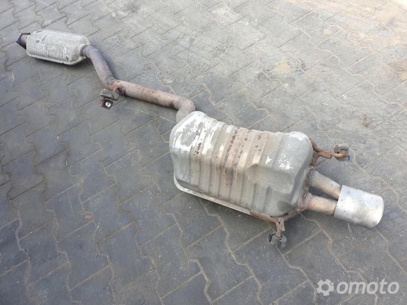 Mercedes CLK 320 W209 3.2 V6 TŁUMIK WYDECH ŚRODEK