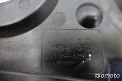 Opel Vectra C 1.8 16V OSŁONA OBUDOWA rozrządu