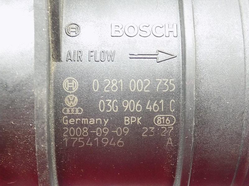 PRZEPŁYWOMIERZ VW PASSAT B6 2.0 TDI 0281002735