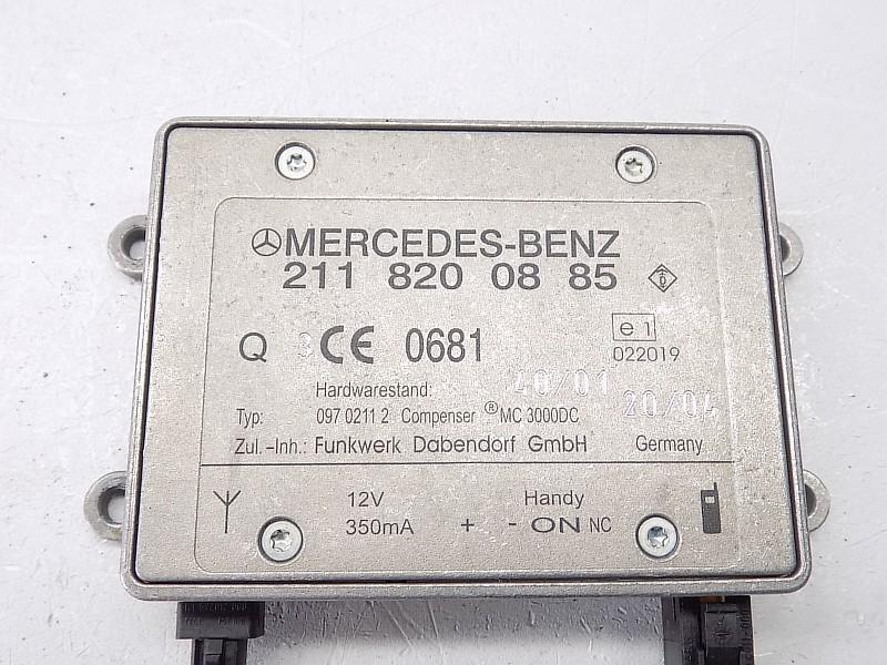 MODUŁ ANTENY - Mercedes W211 02-09 2118200885