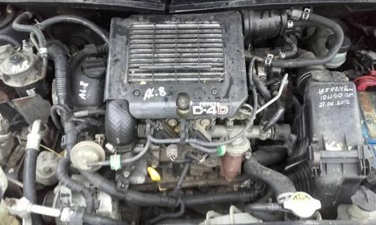Topnotch Toyota Yaris silnik 02-05 1.4 D4D 1ND-TV - Pozostałe - omoto.pl VQ65