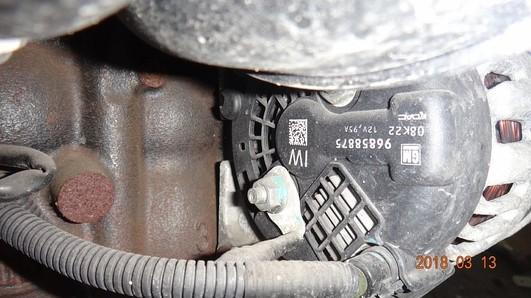 Chevrolet Aveo 08-11 1.4 16V alternator