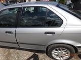 BMW E36 DRZWI TYLNE LEWE TYŁ ARKTISSILBER GOŁE