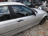BMW E46 98- DRZWI PRAWE PRZÓD TITANSILBER