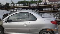 Peugeot 206 CC 03-09 dach komplet EZR