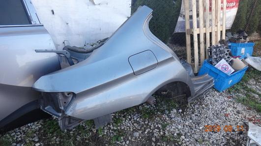 BMW 5 F10 13- BŁOTNIK ĆWIARTKA TYL PRAWY