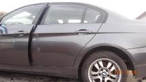 BMW 3 E90 05- DRZWI TYLNE LEWE SPARKLING A22