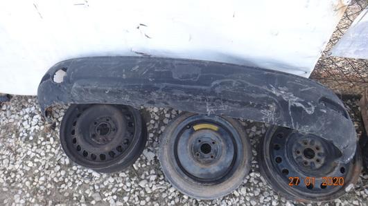 Renault Clio IV 12- dokładka zderzaka tył Kombi