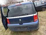 Peugeot 1007 05- klapa bagażnika tył EGE