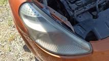 Citroen c3 pluriel 03-  reflektor prawy naprawiany