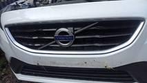 Volvo v40 12- atrapa grill zderzaka r-design