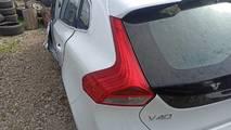 Volvo v40 12- lampa tył lewa
