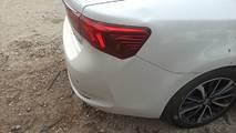 Avensis T27 lift 16- lampa tył prawa sedan led