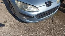 Peugeot 407 04- zderzak przód kompletny eylc