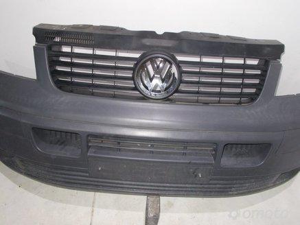 VW T5 TRANSPORTER ZDERZAK PRZÓD GRIL 2007r