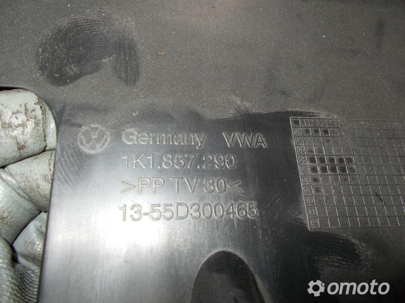 VW GOLF V SCHOWEK DESKI 1K1857290