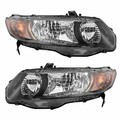 HONDA CIVIC COUPE USA 2006- LAMPA REFLEKTOR PRAWA