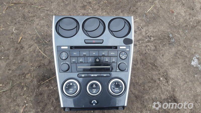Radio CD Panel nawiewu  Mazda 6 2007r