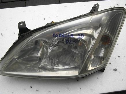 Toyota Corolla E12 Lampa Lewy Przód Lewa Lampy Przednie