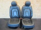 Fotele komplet skóra - Audi A5 8T0 coupe