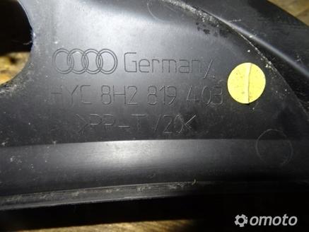 Podszybie Audi A4 B6 00 04 Sedan Podszybia Omotopl Parts To