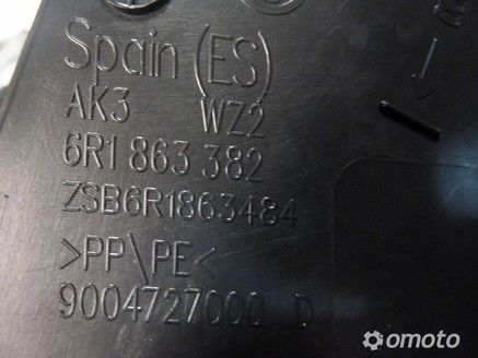 VW POLO 6R POSZYCIE PROGU PRAWE 6R1863382